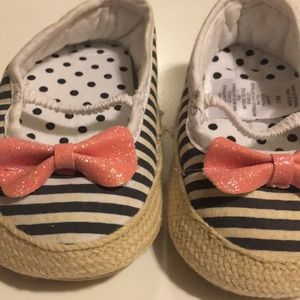 3-6 month slip on shoes.